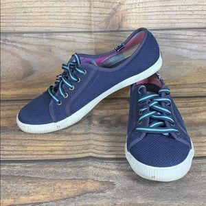 KEDS navy and aqua sneakers
